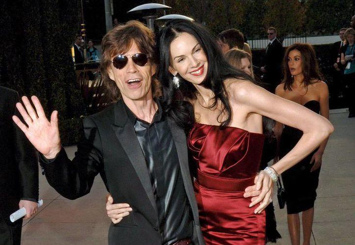 Este miércoles las autoridades confirmaron que la causa de muerte de la novia de Jagger fue suicidio por ahorcamiento. (EFE)