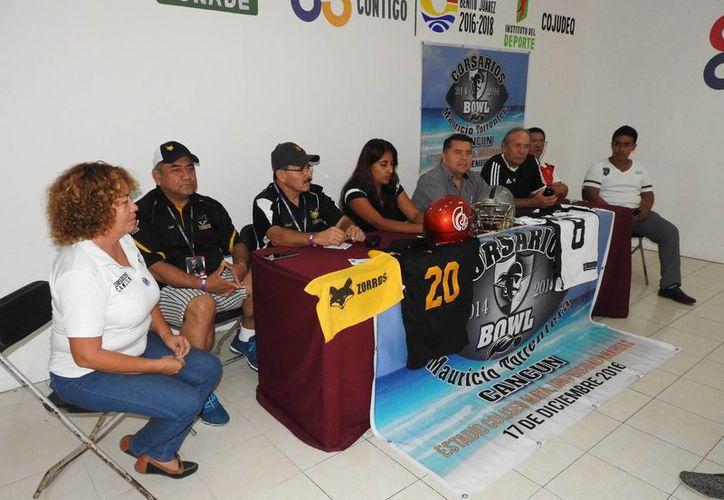 Se presentó el evento durante una conferencia de prensa. (Raúl Caballero/SIPSE)