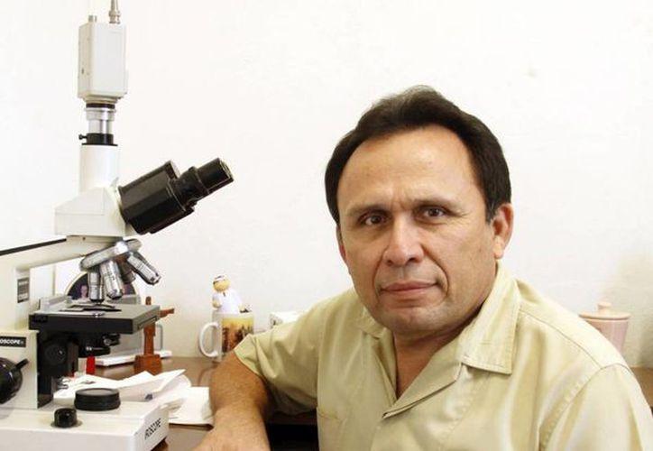 José Cerón Espinosa dio a conocer que el hospital es insuficiente. (Juan Albornoz/SIPSE)