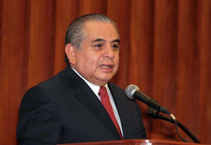 Ardelio Vargas: hemos entrado en un proceso real de reestructuración hacia adentro de la institución. (Notimex)