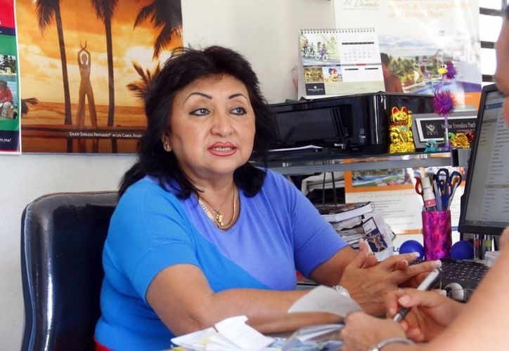 Doris Norbé Méndez Aranda, presidenta de Avipey afirma que Yucatán es un destino favorito para bodas, debido a sus playas, clima, haciendas y hoteles. (Milenio Novedades)