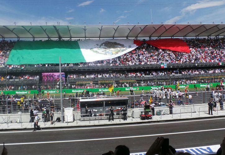 Autódromo Hermanos Rodríguez por tercer año consecutivo recibirá el Gran Premio de México. (Contexto)