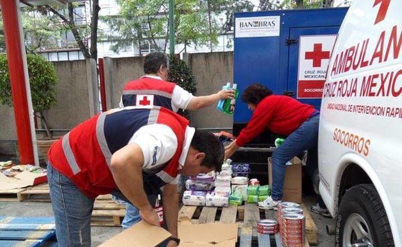 La mayoría de las delegaciones de la Cruz Roja, estará funcionando como centro de acopio. (Foto: Cruz Roja Mexicana)