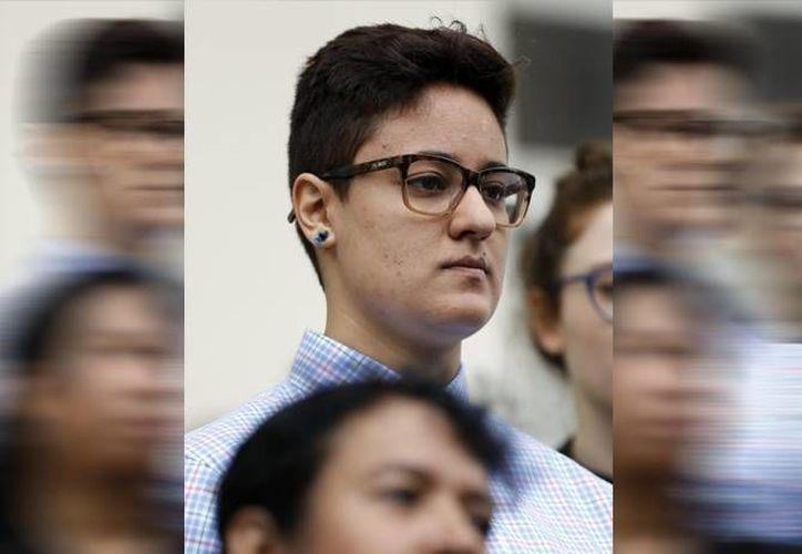 Daniela Vargas no tiene antecedentes penales y gozaba de la protección del DACA hasta hace dos semanas. (AP/Rogelio V. Solis)