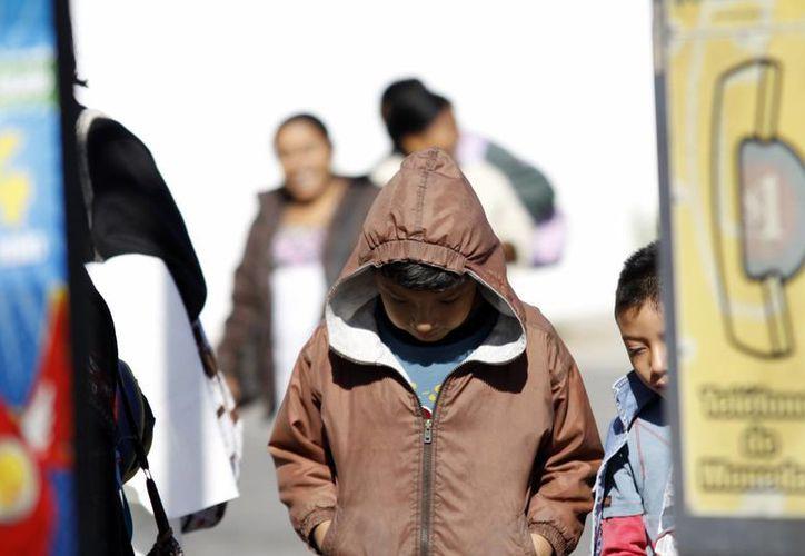 Los yucatecos despertaron con un frío al que no están habituados. (Christian Ayala/SIPSE)