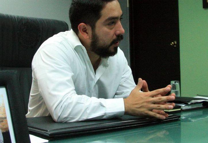 Luis Enrique Borjas Romero, secretario de la Juventud en el Estado, afirmó que la finalidad es que los participantes tengan los conocimientos necesarios para la elaboración de un plan de negocios. (Milenio Novedades)