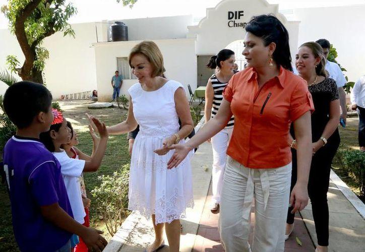 El DIF Chiapas garantiza el acceso a la salud, la educación y la seguridad de los niños. (Foto: Cortesía)