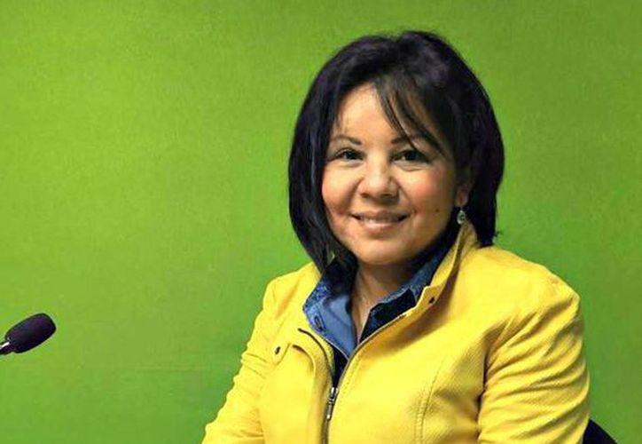 Fotografía tomada de la página oficial de la alcaldesa del municipio mexicano de Temixco, Gisela Mota, del PRD, quien fue asesinada este sábado, un día después de asumir el cargo. (EFE/Página Oficial Giselda Mota)