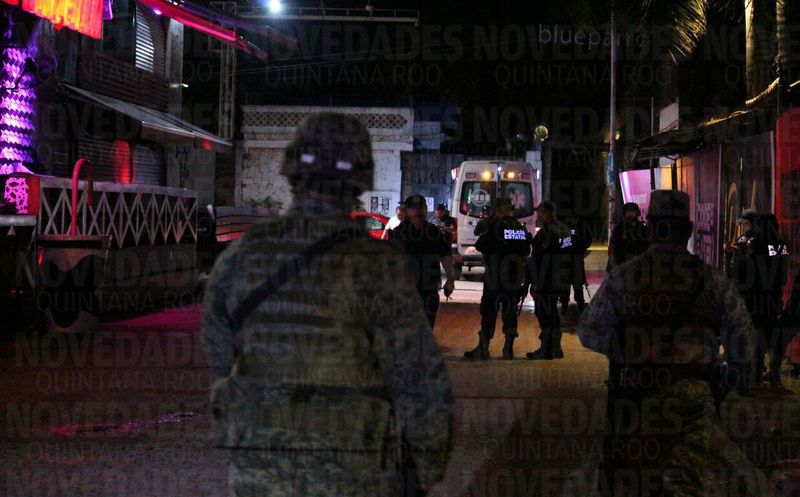 Reportan balacera en Playa del Carmen; 3 detenidos