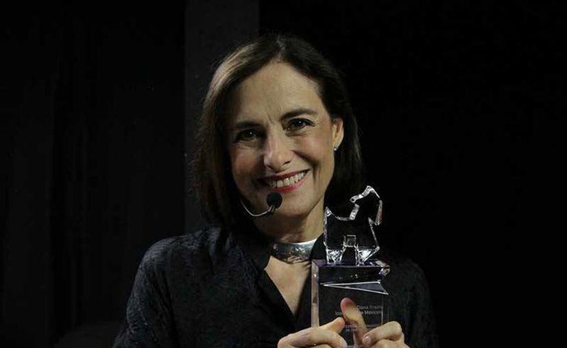 Diana Bracho, actriz mexicana, recibió el máximo reconocimiento del Festival Internacional de Cine (FIC) Monterrey. (Foto cortesía tomada de elhorizonte.mx)