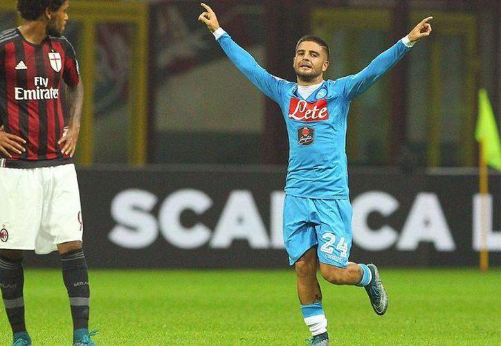 Lorenzo Insigne, del Nápoles, es uno de los jugadores que entraron en la convocatoria final de la Selección de Italia para la Eurocopa 2016. (foxsports.com)