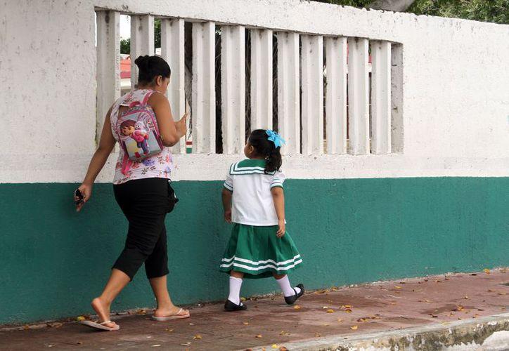 Es importante la asistencia a clases de los menores, pues están a unas semanas de concluir el actual ciclo escolar 2016-2017. (Joel Zamora/SIPSE)