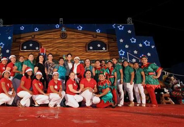 """Ofrecerán un espectáculo de danza y música en vivo denominado """"Navidad Mexicana"""". (Contexto/SIPSE)"""