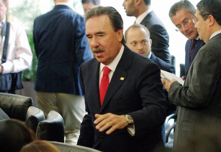 El coordinador priista, Emilio Gamboa, dijo que su partido está dispuesto a debatir el modelos de comunicación político electoral. (Archivo/Notimex)