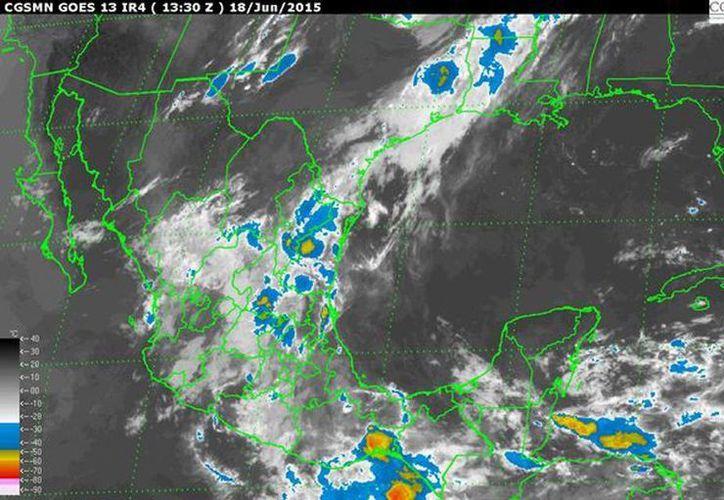 La Onda Tropical Número 5 se extenderá sobre el occidente del Golfo de Tehuantepec y originará lluvias intensas en Guerrero y Oaxaca, y precipitaciones muy fuertes en Chiapas, Puebla y el sur de Veracruz. (smn.conagua.gob.mx)