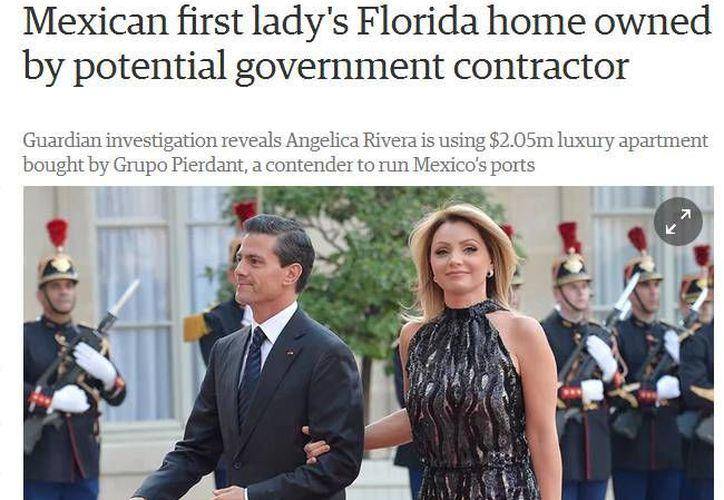 La Presidencia de México rechaza y lamenta la publicación de 'The Guardian', la cual tachó de dolosa. (theguardian.com)