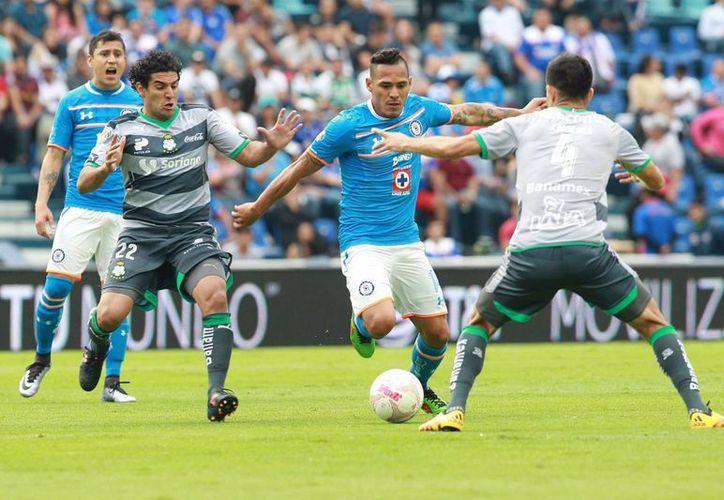 Cruz Azu cayó esta tarde en su casa 1-0 ante el Santos Laguna, esto en la jornada 14 del Clausura 2016. (Notimex)