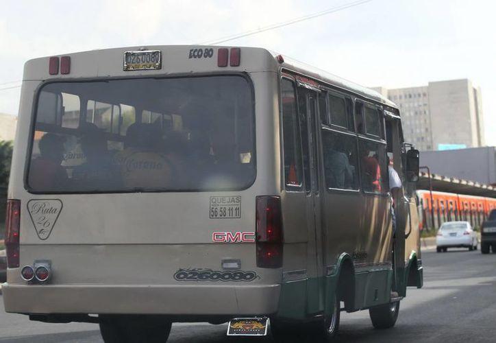 Los descuentos de la SCT estarán limitados a ocho estudiantes y dos maestros por vehículo. (Foto de contexto de Notimex)