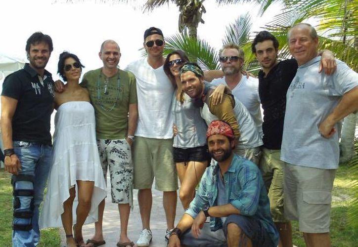 El elenco de la película cuenta con la actuación de actores naciones y extranjeros. (Milenio Novedades)