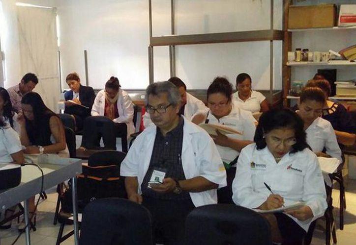 El curso se impartió en las instalaciones de la Uneme-Capasits; tuvo una duración de seis horas. (Redacción/SIPSE)