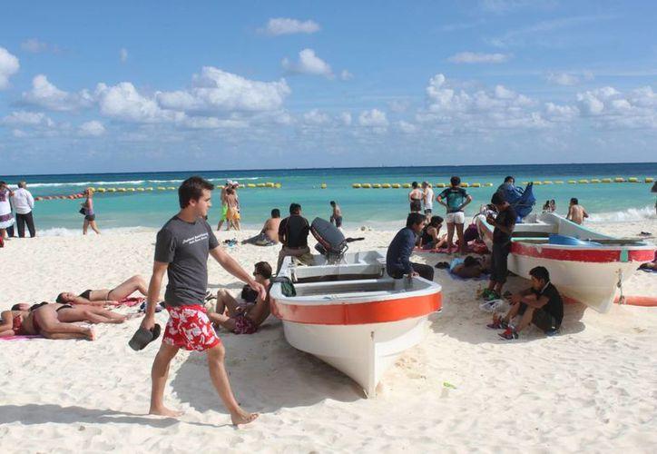 Playa del Carmen tendrá temperaturas cálidas durante este fin de semana. (Daniel Pacheco/SIPSE)