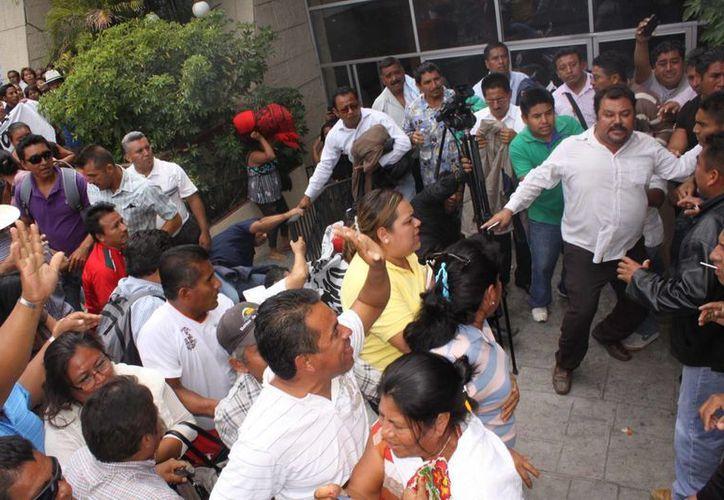 Los detenidos fueron presentados en calidad de presentados. (Notimex)