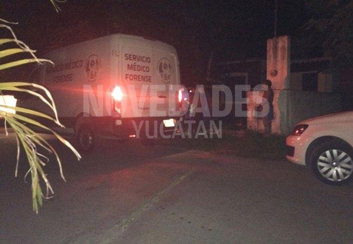 El cuerpo fue hallado el sábado por la noche. (Novedades Yucatán)