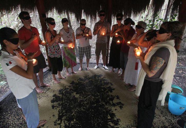 Estudiantes de la Universidad Bastyr de Seattle visitan la Riviera Maya como parte de su formación académica. (Cortesía)