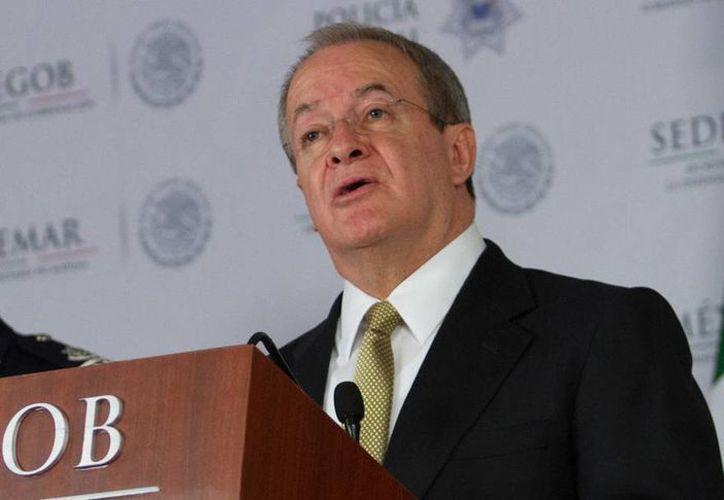Monte Alejandro Rubido sostuvo el jueves una reunión de trabajo con integrantes de la Comisión de Seguridad Pública de la Cámara de Diputados. (Archivo Notimex)