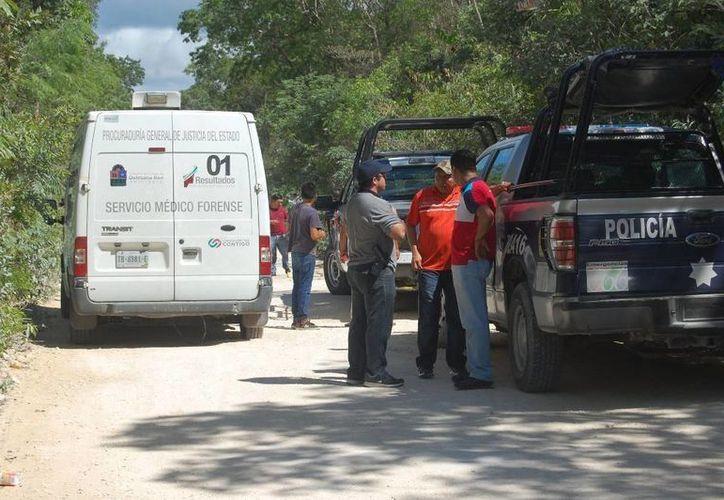 En el área donde asesinaron a Gregorio Alberto Canto Góngora se hallaron siete casquillos percutidos. (Redacción/SIPSE)