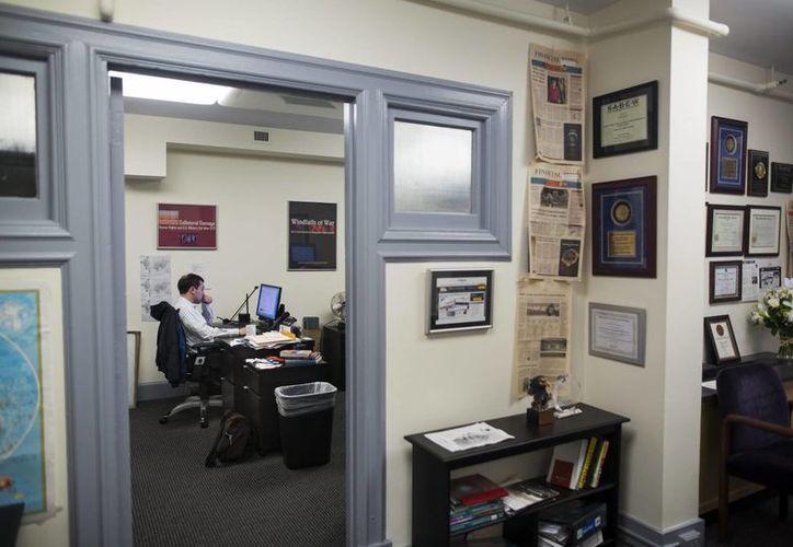 En la imagen, las oficinas del Consorcio Internacional de Periodistas de Investigación (ICIJ, por sus siglas en inglés), organización que develó millones de documentos conocidos como los Papeles de Panamá. (EFE)