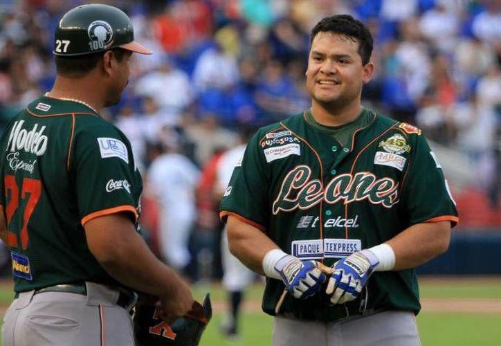 Los melenudos quieren llegar en plena forma a la inauguración de la temporada de beisbol de la Liga Mexicana el 2 de abril. (Milenio Novedades/Archivo)