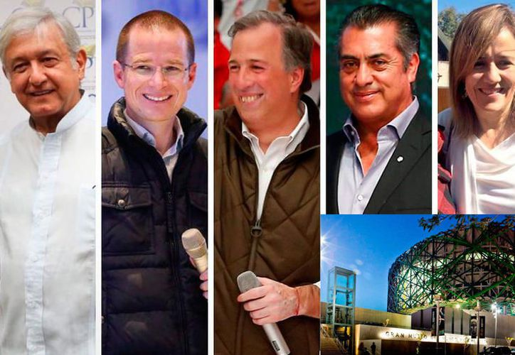 El debate presidencial en Yucatán se llevará a cabo el próximo 12 de junio. (Agencias)