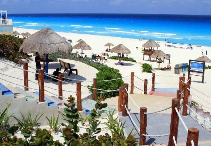 El trabajo que se realice en playa Delfines se igualará en Las Perlas y Tortugas. (Redacción/SIPSE)
