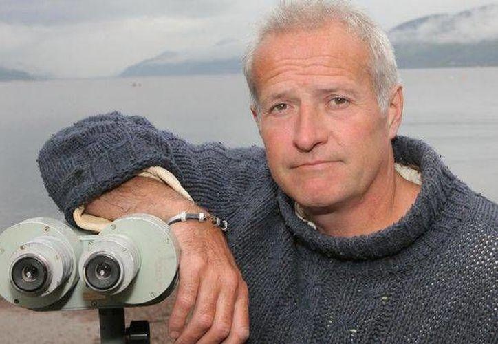Steve Feltham, quien se ha dedicado a buscar al monstruo del lago Ness, dijo que solo se trata de un pez gato. (NorthPix)