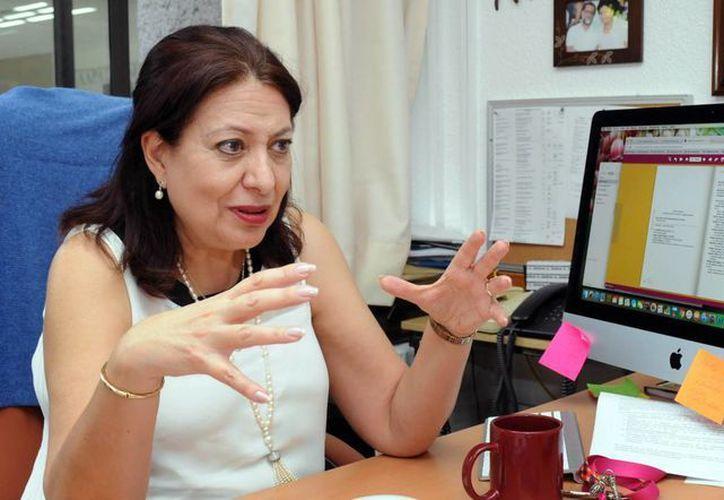 En imagen, Laura Elena Sotelo Santos, investigadora del Centro de Estudios Mayas de la UNAM (www.dgcs.unam.mx)