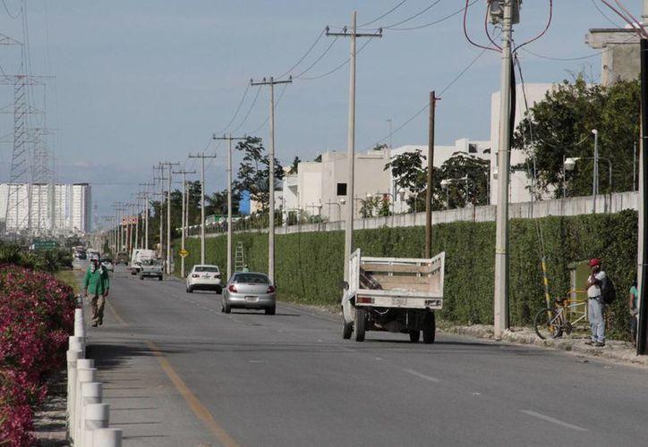 Las zonas de Cancún que más han crecido son en los extremos, el norte, con 65% de desarrollo, y el 35% en el sur de la ciudad. (Tomás Álvarez/SIPSE)