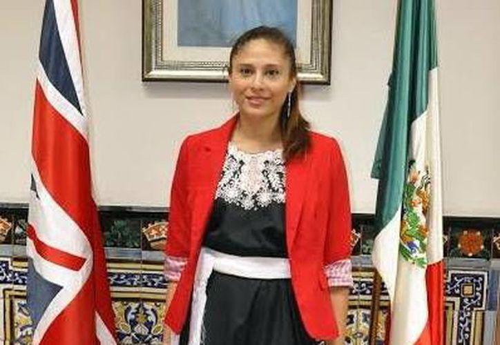Nora Saraí Carrillo Bermejo es beneficiaria de la Beca Chevening, programa que acerca a los yucatecos la posibilidad estudiar en alguna de las 120 universidades del Reino Unido. (Milenio Novedades)