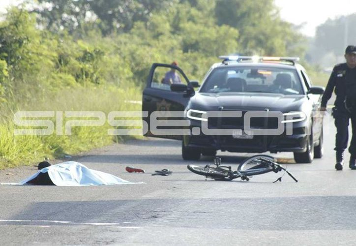 El accidente dejó saldo de un muerto. (Fotografías: José Acosta/Milenio Novedades)