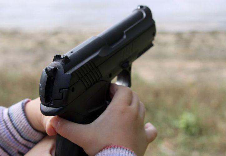 Tras desarmar al pequeño, se dieron cuenta que la pistola era de plástico. (Foto: Contexto)