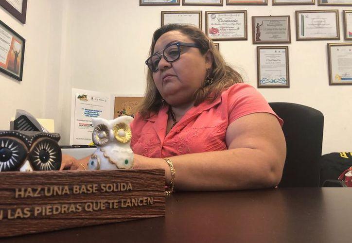 La fiscal de la mujer recomendó a los padres de familia que estén pendientes cuando sus hijos. (Foto: Eric Galindo)