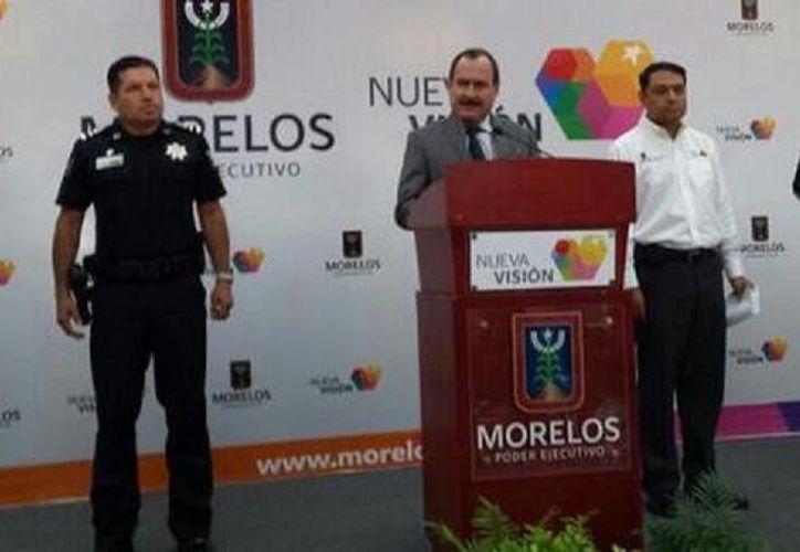 El secretario de Gobierno de Morelos, Jorge Messeguer, garantizó que la detención de los tres sospechosos está basada en pruebas periciales específicas y comprobadas. (Milenio)