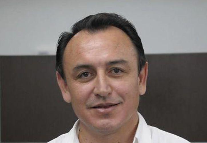 Rector de la casa de estudios, Tirso Ordaz Coral. (Redacción/SIPSE)
