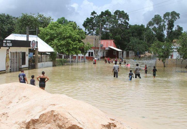 El 18 de junio, la Conagua Quintana Roo, emitió el dictamen técnico para la declaratoria de emergencia por la lluvia severa que afectó a  los 11 municipios del estado. (Joel Zamora/SIPSE)