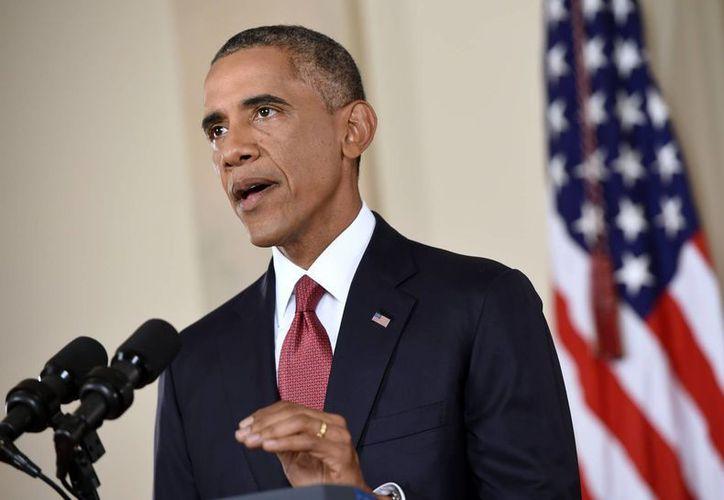 Obama había intentado reducir las intervenciones militares de EU en Oriente Medio, pero a pesar de la menor presencia castrense en la zona, el terrorismo sigue presente. (AP)