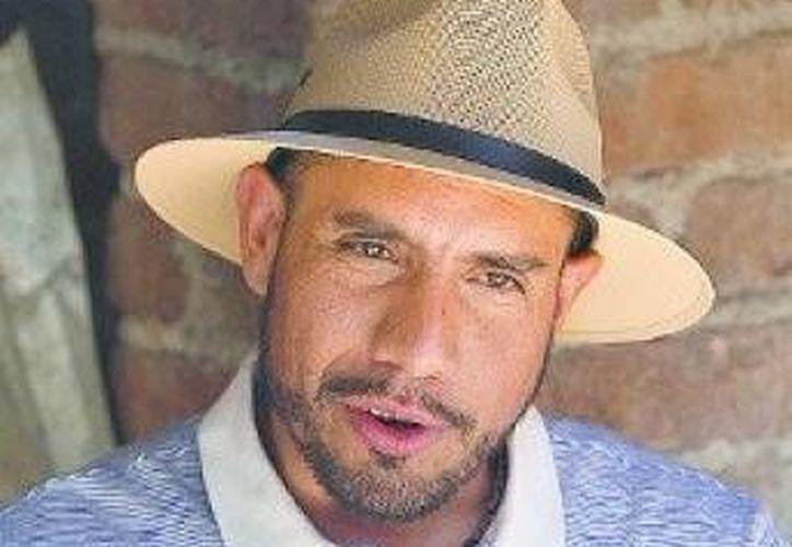 Luis Enrique Granillo, dirigente del Frente Popular y Campesino Francisco Villa. (Nelly Salas/Milenio)