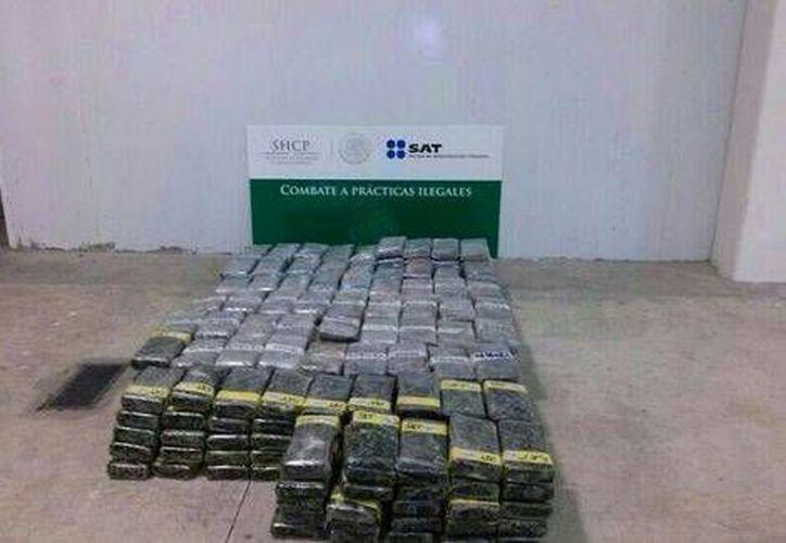 El cargamento de droga sería llevado a los Estados Unidos.(Milenio)