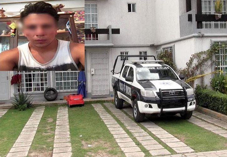 La casa donde se cometió el crimen, en el Estado de México. (Agencias)