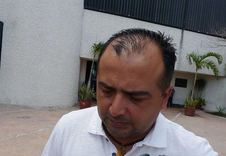 Herminio Ordaz Guzmán se presentó en calidad de testigo en la PGR. (Licety Díaz/SIPSE)