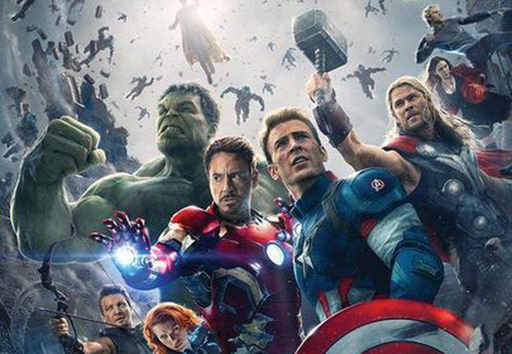 Este es el poster de 'Los Vengadores, la era de Ultron', segundo filme de estos superhéroes. (Foto tomada de slashfilm.com)